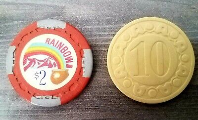 Old Casino & Poker Gaming Chips