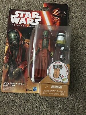 "Star Wars: The Force Awakens 3.75"" Figure - Sarco Plank - Sealed"