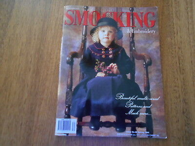 Australian Smocking & Embroidery Magazine - Issue No. 30 - Spring 1994 -