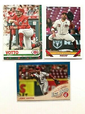 2019 Topps Update Joey Votto Est 1869 Insert #EST-2 Reds #HW65 Holiday #238 base