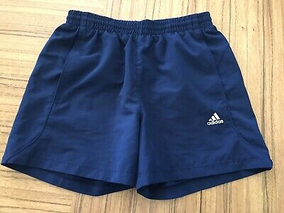 Adidas Navy Youth Running Shorts Size L (13-14 Years)