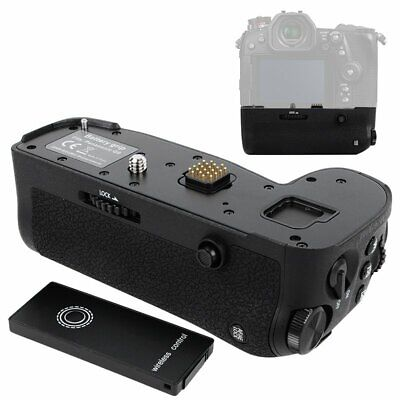 Vertical Battery Grip Holder + Remote Control For Panasonic LUMIX G9 DC-G9GK-K