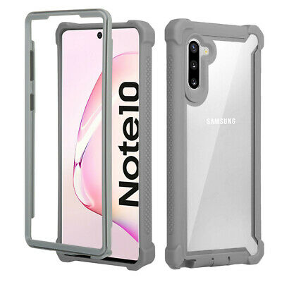Shockproof Clear Slim Bumper TPU Case Cover For Samsung Galaxy Note 10 Plus Pro