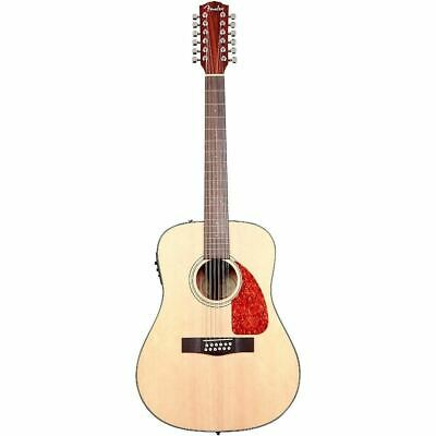 NEW Fender CD-160SE-12 -12 String Solid Top Acoustic/Electric Guitar #0961522021