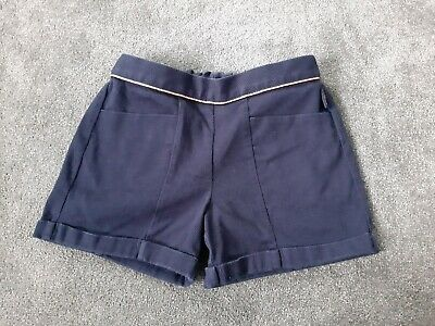 Girls Ted Baker Navy Shorts Age 7-8 Years