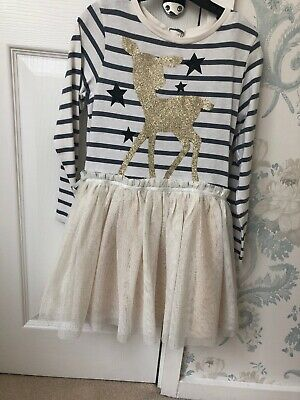 P Girls Next Winter Party Dress Age 4-5 Years