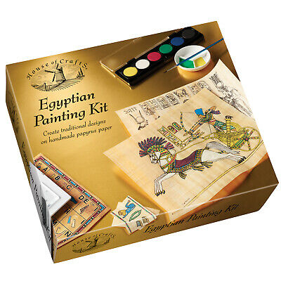 House of Crafts Egyptian Painting Kit