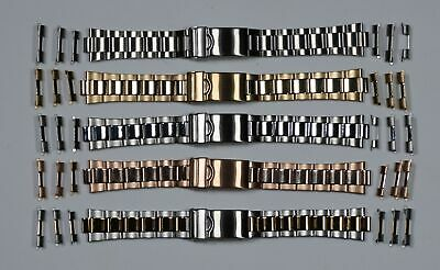 Jubilee Watch Bracelet Strap 18mm 20mm 22mm Straight End High Quality Rolex Type
