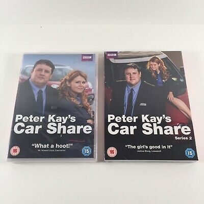 Peter Kay's Car Share - Series 1 & 2 (DVD, 2017) - New & Sealed