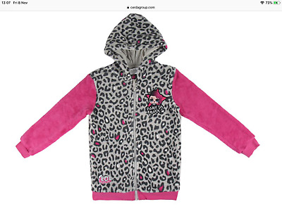 Girls coat LOL Surprise Dolls jacket hoodie, Official sizes 7-14yrs