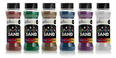 Sparkle Sand 220gm -  Packed in 6 Assorted Colours
