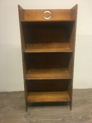 Beautiful Small Antique Oak Bookcase - Excellent Condition