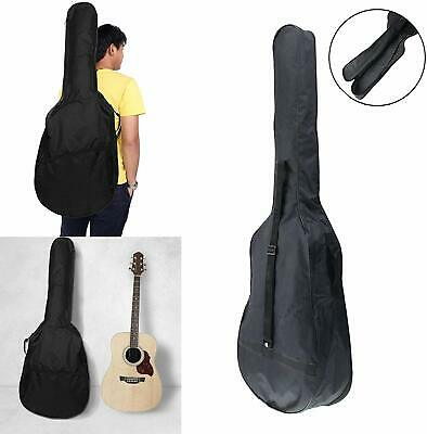 """.41"""" Black Full Size Acoustic Classical Guitar Bag Case Cover High Quality NEW"""