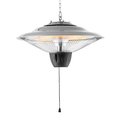Infrared Heater Patio Electric Ceiling Hanging Garden Outdoor Indoor Safe 1500W