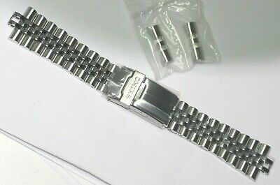 Seiko Solid Steel Watch Band Skx007 Skx009 Divers 22Mm New Original Part 44G1Jz