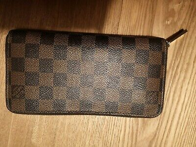 Louis Vuitton Zippy Wallet Portefeuilles Damier Ebene