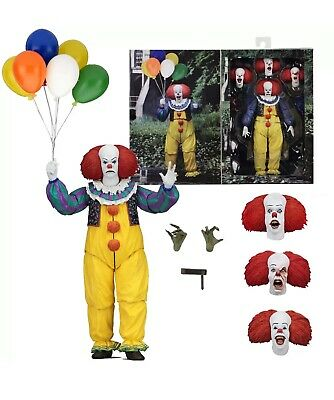 """IT - 7"""" Scale Action Figure - Ultimate Pennywise (1990) - NECA"""