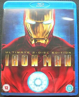 Iron Man - Ultimate 2-Disc Edition (Blu-ray, 2008)