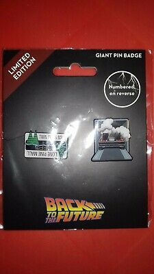 Official Back To The Future Limited Edition Enamel Pin Badge collection Delorean