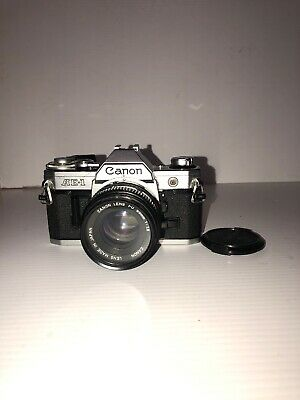 Canon AE-1 Program Camera Outfit with FD 50mm F/1.8 Lens