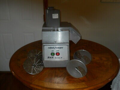 ROBOT COUPE R4X Series D  FOOD PROCESSOR with 4 disc