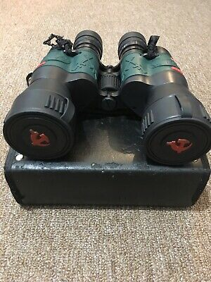RARE VINTAGE MADE iN RUSSIA BINOCULARS WITH HARD CASE.