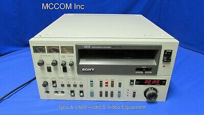 """Sony VO-5850  3/4"""" UMatic Videocassette Recorder AS IS/ Parts"""
