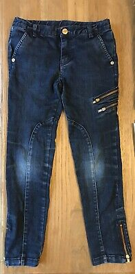 Girls Ted Baker Navy Blue Jeans Age 8