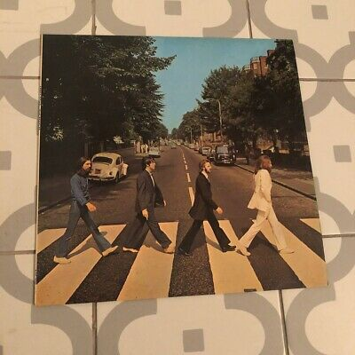 The Beatles Abbey Road PCS7088 1st Press -1/-2 No Her Majesty Vinyl Record VG