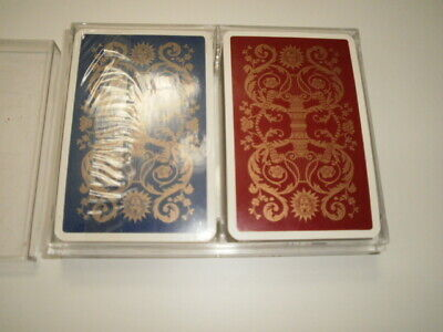 2 Sets French Playing Cards Jeu De Cartes Versailles With Plastic Case