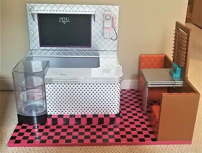 """Our Generation Retro Diner for 18"""" Doll No Accessories"""