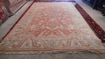 Fine Quality Antique Wool Hand knotted oriental Rug Carpet Runner