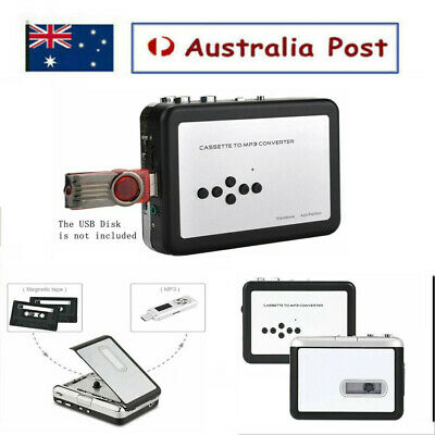 Tape To Pc Usb Cassette To Mp3 Cd Converter Capture Audio Music Player Recorder