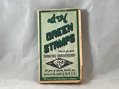 1956 S&H Green Stamps Diamond Anniversary Sperry Hutchinson Book
