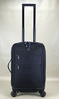 "Victorinox Swiss Army Lexicon 22"" Expandable Dual-Caster US Carry On Black"