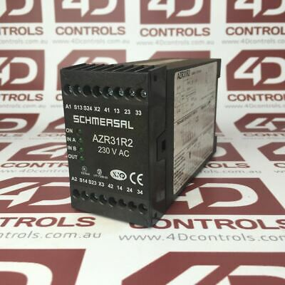AZR31R2 | Schmersal | Safety Monitoring Module 110Vac - Used