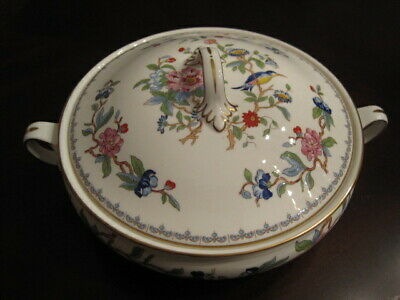 Aynsley Pembroke Covered Vegetable Serving Bowl w/handles and lid--PERFECT!!