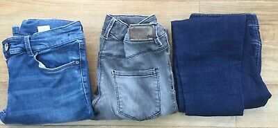 2 pairs of Next Girls And 1 pair of Blue Zoo Denim  Age 14