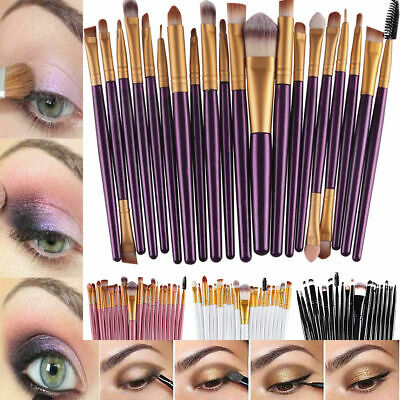 20PCS Make up Brushes Set Foundation Comestics Eyeliner Lip Powder Kabuki Tool