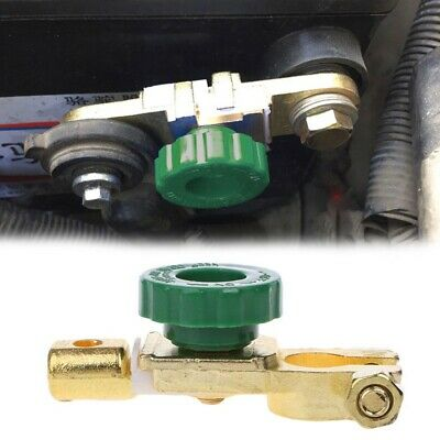 Car Truck Vehicle Battery Terminal Link Quick Cut-Off Disconnect Isolator Switch