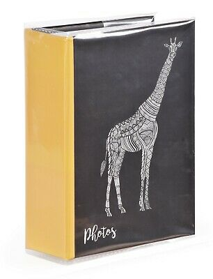 Zen Giraffe 6'' x 4'' Slipin Photo Album Holds 120 Photos Photography Storage