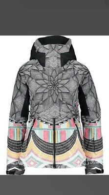Roxy woman's Ski Suit  Ski XS Snow Jacket HEN do 90s Wavey New