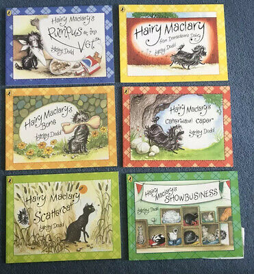 Hairy Maclary and friends 6 Books + Bag- Lynley Dodd - Puffin books