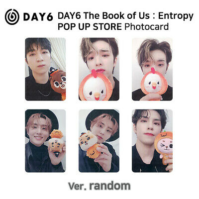 DAY6 - THE BOOK OF US : Entropy POP UP STORE Photocard - Random