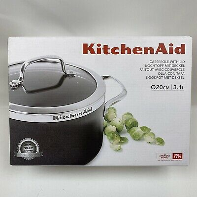 Kitchenaid Casserole With Lid 20cm 3.1L New In Box