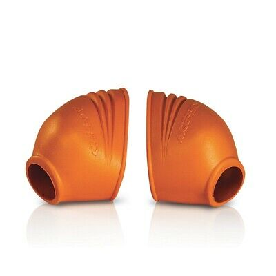 Acerbis Foot Peg Covers Orange (0011469.010)