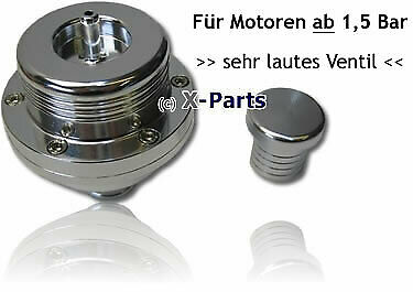 Pop Blow Off Ventil Piston LAUT Fiat Uno Coupe Turbo + Stopfen