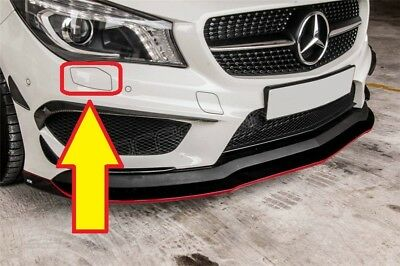 NUOVO Originale Mercedes Benz MB CLA W117 AMG anteriore NUMBER PLATE HOLDER A1178806000