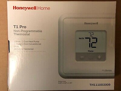 GemTech THWP211D1004 Programmable Thermostat Heat Pump With Auxiliary GTP211D