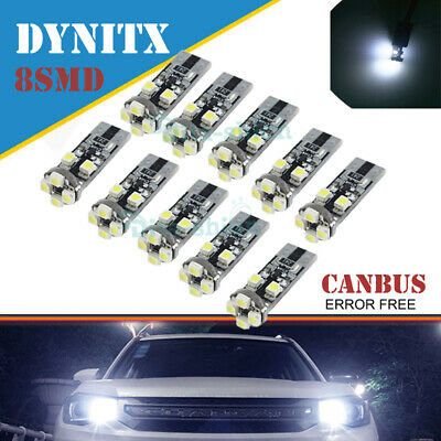 2XW5W T10 501 CANBUS ERROR FREE WHITE LED SIDELIGHT SIDE LIGHT BULBS fit for BMW
